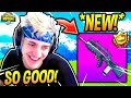 Download NINJA LOVES THE *NEW* BURST ASSAULT RIFLE! *OVERPOWERED* Fortnite SAVAGE & FUNNY Moments