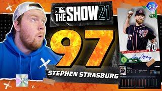 NEW *97* Stephen Strasburg Struck Out 15!? | MLB The Show 21