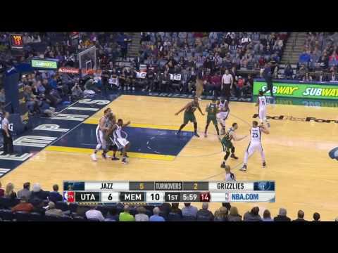 Utah Jazz vs Memphis Grizzlies - Highlights | January 8, 2017 | 2016-17 NBA Season