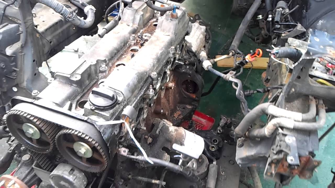 Gs300 engine removal  YouTube