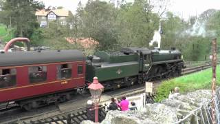 British Trains / British Rail North Yorkshire Moors Railway Steam Gala 2014 Part 1 / Dampfzug