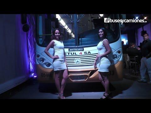 Mercedes-Benz presenta buses Euro 5 Blue Tec 5 l Presentado por BUSESYCAMIONES.pe