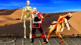 Mortal Kombat Trilogy All Fatalities PS1