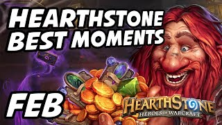 Hearthstone Best Moments | February