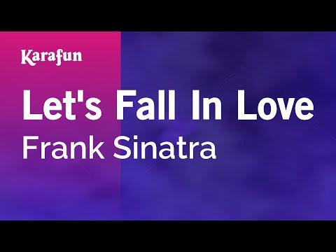 Karaoke Let's Fall In Love - Frank Sinatra *