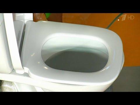 Чистота в туалете. Жить здорово! 01.03.2016