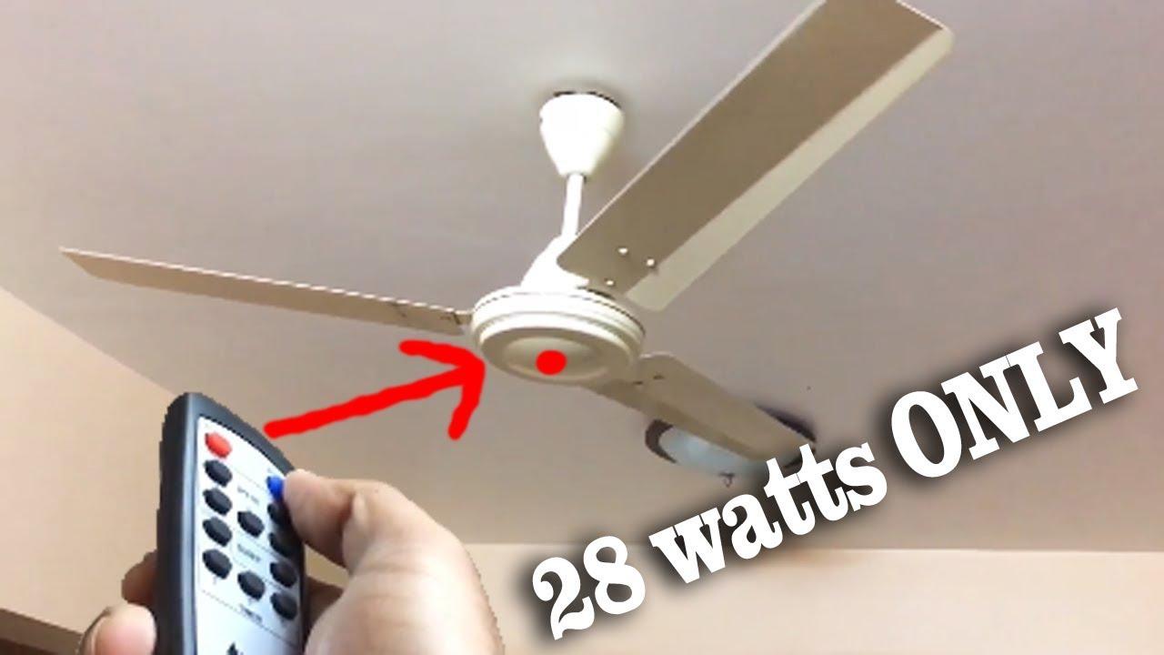 Bldc 28 Watts य Fan लग ड ल