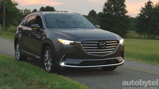 2017 Mazda CX-9 Signature Test Drive Video Review