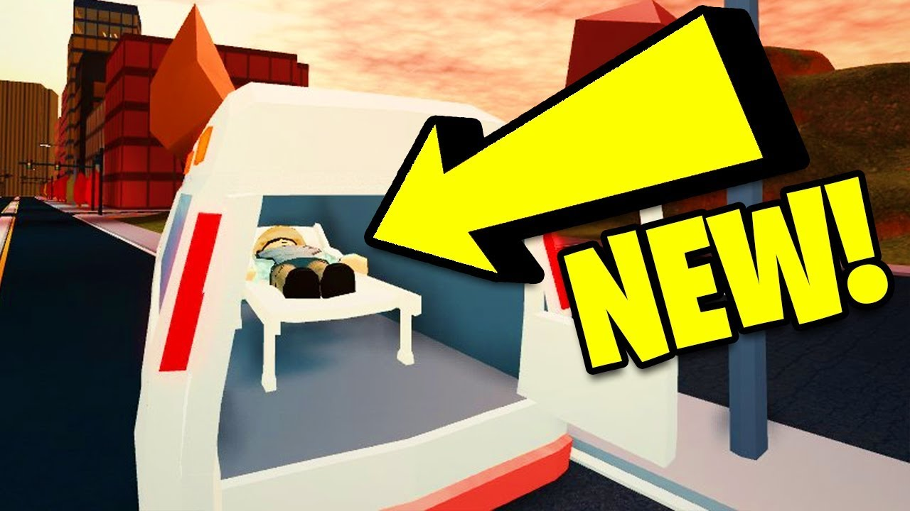Jailbreak Ambulance Update Volcano Erupting Secret Asimo Account Found Roblox Jailbreak Update Youtube