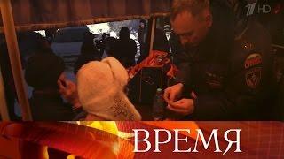 Урок физкультуры вдеревне Кисловка Томской области превратился воперацию поспасению детей.