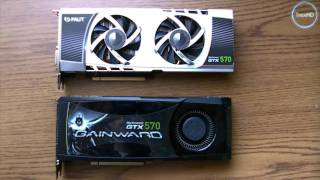 palit GTX570 Sonic Platinum Unboxing and Test (HD)