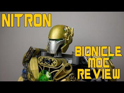 BIONICLE self MOC NITRON REVIEW