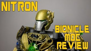BIONICLE self MOC NITRON REVIEW