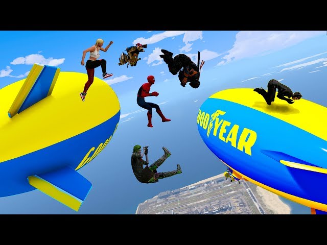 EXTREME OBSTACLES RUN! (Funny Superhero Contest Video w/ Baby Groot Spiderman Rocket Raccoon Joker)