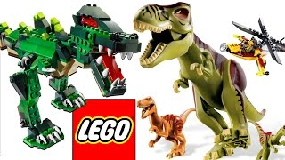ЛЕГО ДИНОЗАВРЫ. Сборник лучших мультиков про Динозавров все серии подряд Мир Юрского Периода LEGO