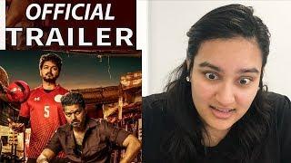Bigil REACTION | Official Trailer | Thalapathy Vijay | 1000% 🙌💪😍🤩