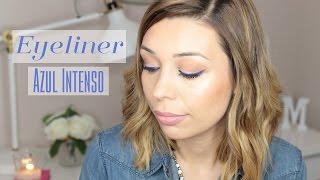 Maquillaje de Primavera | Eyeliner Azul Intenso