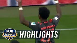 David alaba scores equalizer off brilliant free kick | 2016-17 bundesliga highlights