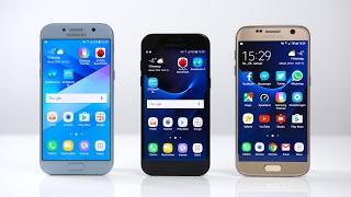 Samsung Galaxy A5 2017 vs. A3 2017 vs. Galaxy S7: Benchmark | SwagTab