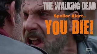 The Walking Dead season 7 finale - Tiger kills Negan version