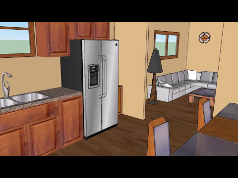 Team Zero Energy Home SketchUp Walk through