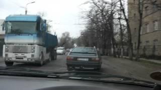 Car ride to work -- part 2! -- Bishkek, Kyrgyzstan -- April 2013