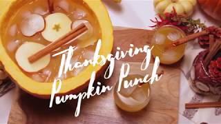 Thanksgiving Pumpkin Punch