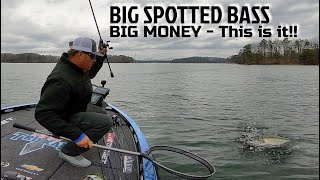 Catching BIG Spotted Bass and Making BIG MONEY on Lake Lanier
