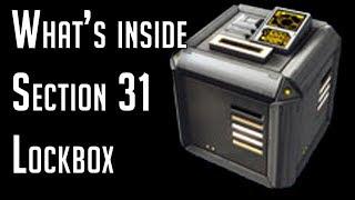 What's inside Section 31 Lockbox – Star Trek Online