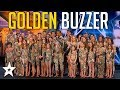 Download Sensational Dance Crew Get Tyra Banks GOLDEN BUZZER on America's Got Talent | Got Talent Global