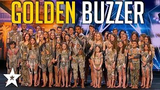Download Sensational Dance Crew Get Tyra Banks GOLDEN BUZZER on America's Got Talent | Got Talent Global Mp3 and Videos