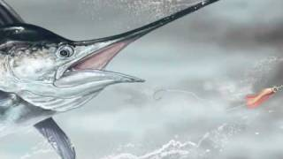 Blue Marlin Speed Painting