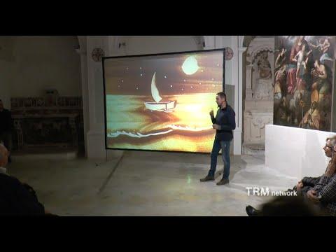 """Musica e sand art. Massimo Ottoni a Matera per """"Su..."""