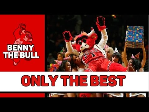 BENNY THE BULL MASCOT BEST MOMENTS (music video)