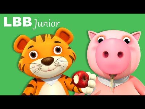 Noisy Food Fun | Original Songs | By LBB Junior