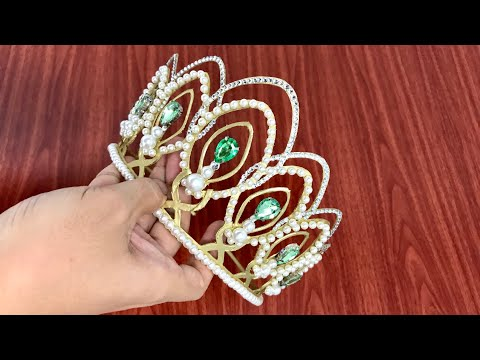 Making a Crown from paper - MU Puerto Rico (diy)