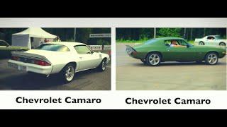 Chevrolet Camaro '78 vs Chevrolet Camaro '70