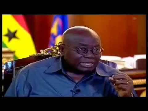 President Akufo-Addo's first interview as head of state