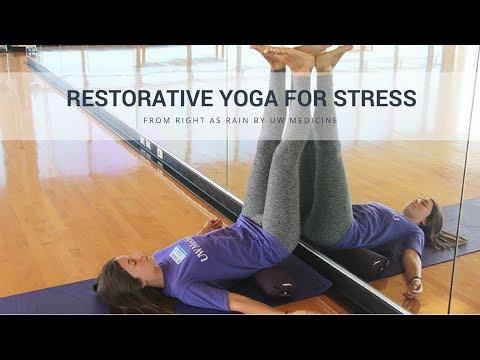 Restorative Yoga for Stress