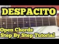 Despacito Guitar Chords Lesson in Hindi | Easy Open Chords |Justin Beiber | Luis Fonsi|Daddy Yankee