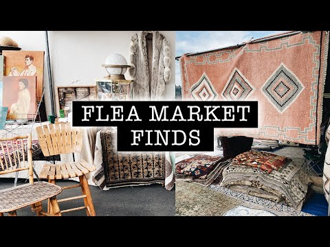 FLEA MARKET FINDS // Come Shop With Me PART 1  | XO, MaCenna