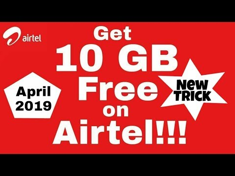 Download 5gb Data In 5rs Airtel Tricks Airtel Free Data Free
