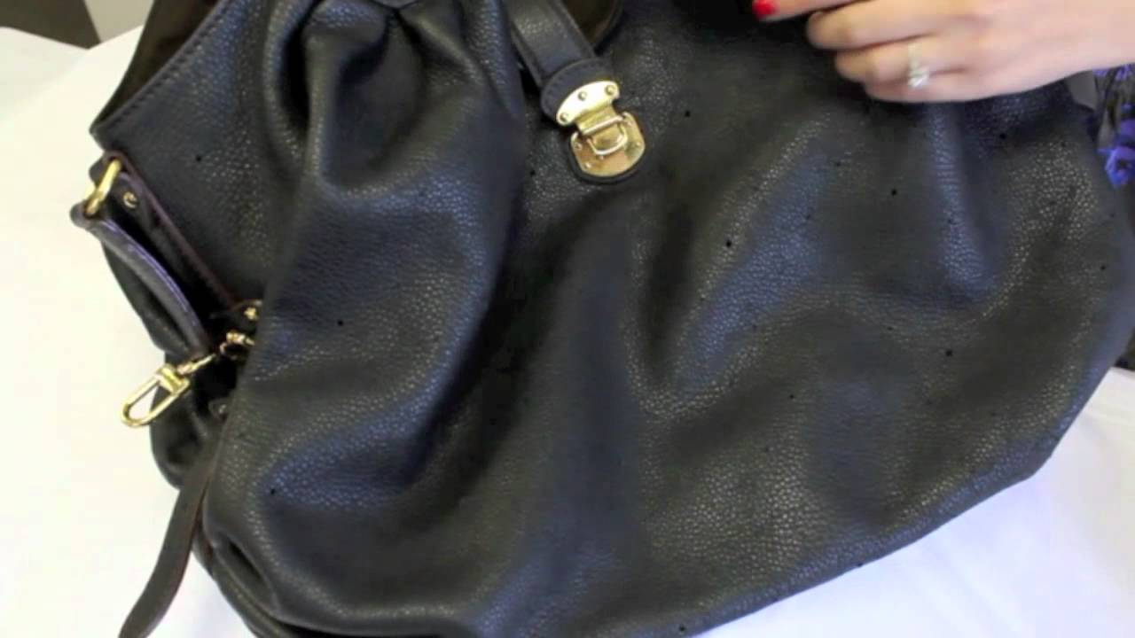 c5f2b054df1 Louis Vuitton Mahina XL Leather Handbag - YouTube