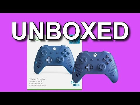 Unboxing The Sport Blue Controller That I Bought For XCloud