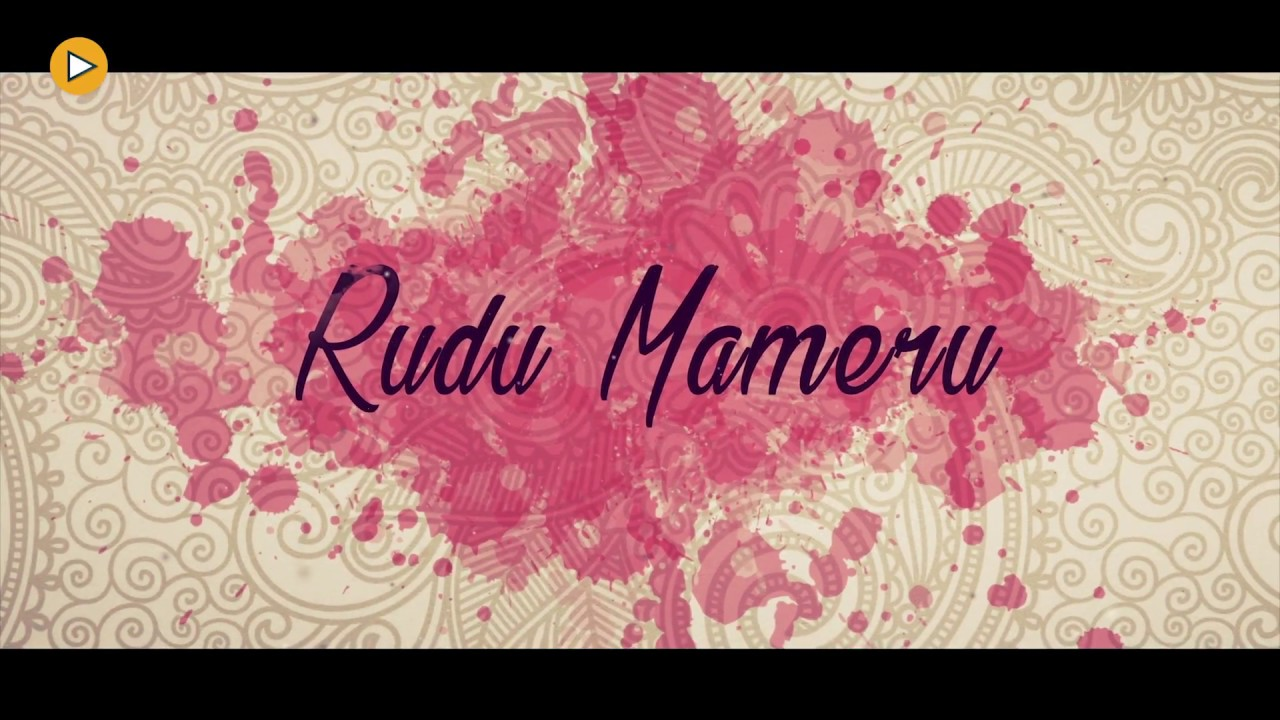 Rudu Mameru | Wedding Ceremoney I Invitation Video | 4k