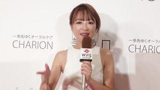 タレント、モデルの鈴木奈々が2018年を振り返ってWWSチャンネルに向けて...
