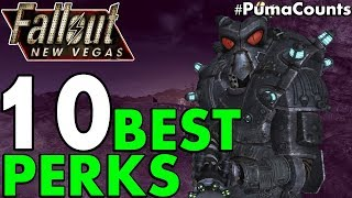 Top 10 Best Perks to Have in Fallout: New Vegas (Best Perks Guide) #PumaCounts