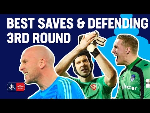 Ruddy's Fingertip Save or Iversen Denying Mitrovic? | Best Saves Round 3 | Emirates FA Cup 2018/19