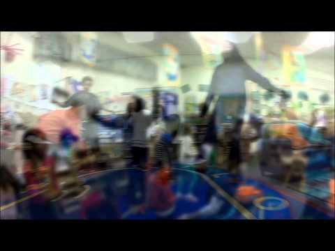 The Bean Bag Dance at Windward Child Development Center