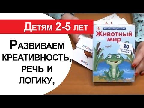 Игры на развитие логики, речи, воображения у детей 2-5 лет. #37